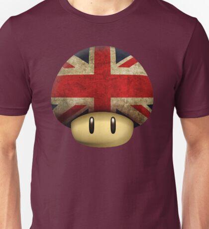 Union jack Mario's mushroom Unisex T-Shirt