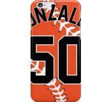 Miguel Gonzalez Baseball Design iPhone Case/Skin