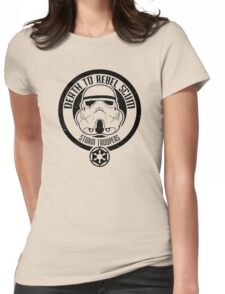 Death to Rebel Scum Womens Fitted T-Shirt