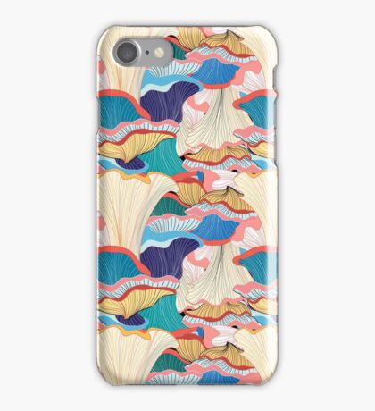 pattern with mushrooms  iPhone Case/Skin