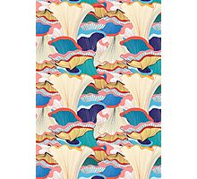pattern with mushrooms  Photographic Print