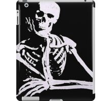 Thinking Skull iPad Case/Skin
