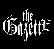 THE GAZETTE - LOGO BLACK by KpopAndJMusic
