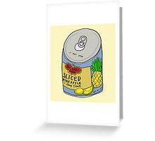 PINEAPPLE EXPRESS Greeting Card