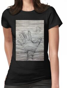 Reaching Your Love Womens Fitted T-Shirt