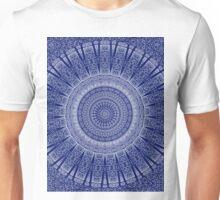Indian Damask Mandala Unisex T-Shirt