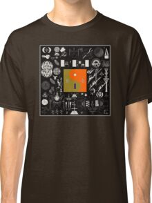 Bon Iver - 22, A Million Album Artwork Cover Classic T-Shirt