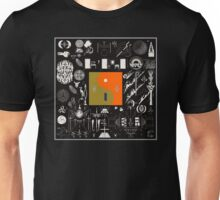 Bon Iver - 22, A Million Album Artwork Cover Unisex T-Shirt