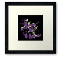 Eva-01 Framed Print