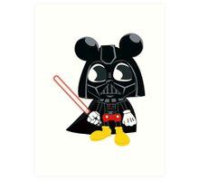 Darth Mickey Art Print