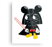 Darth Mickey Metal Print