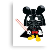 Darth Mickey Canvas Print