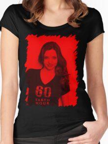 Miranda Kerr - Celebrity  Women's Fitted Scoop T-Shirt