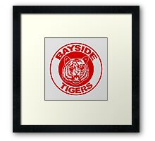 Saved by the bell: Bayside Tigers Framed Print
