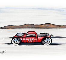 Salt Flats Racer 03 by Richard Yeomans