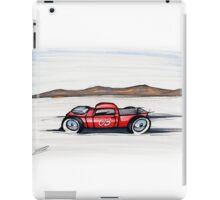 Salt Flats Racer 03 iPad Case/Skin