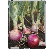 Red Onions iPad Case/Skin