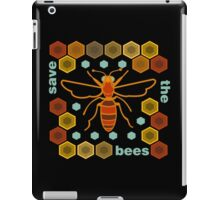 Save the Bees iPad Case/Skin