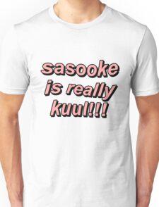 Sasuke Is Really Cool - German Naruto Opening Unisex T-Shirt