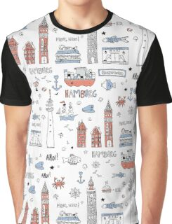 I love Hamburg Graphic T-Shirt