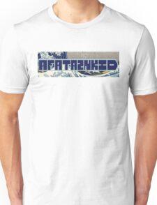 AFATAZNKID - Blue - Blue outline Unisex T-Shirt
