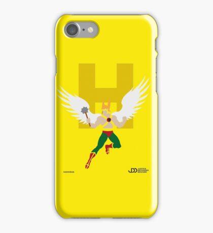 Hawkman - Superhero Minimalist Alphabet Clothing iPhone Case/Skin
