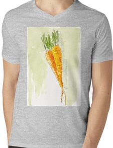 Crunchy orange powerfood Mens V-Neck T-Shirt