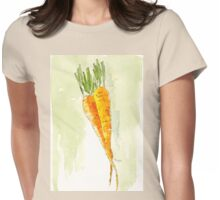 Crunchy orange powerfood Womens Fitted T-Shirt