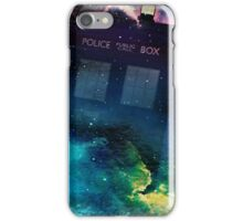 Tardis in Time & Space iPhone Case/Skin