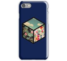 Floral Vintage Cube iPhone Case/Skin