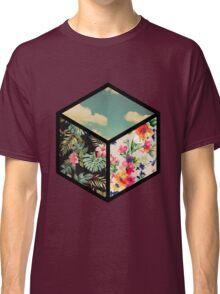 Floral Vintage Cube Classic T-Shirt
