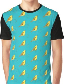 Yellow Bird Graphic T-Shirt