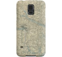 Vintage Map of The Richmond Virginia Area (1864) Samsung Galaxy Case/Skin