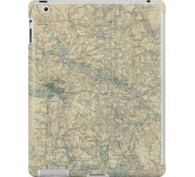 Vintage Map of The Richmond Virginia Area (1864) iPad Case/Skin