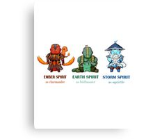 DotA 2 Pokemon Canvas Print