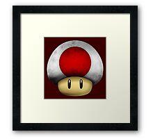 Japan Mario's mushroom Framed Print