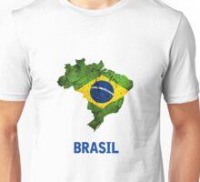 The Brasil Flag Unisex T-Shirt