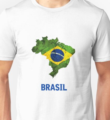 The Brasil Flag Unisex T-Shirt