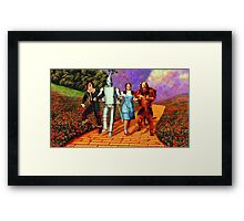 Down the Yellow Brick Road Framed Print