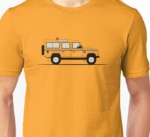 A Graphical Interpretation of the Defender 110 Station Wagon RAF Unisex T-Shirt