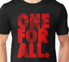 One for all Unisex T-Shirt