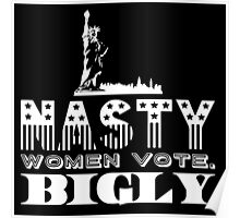 Nasty WomenVote2 Poster