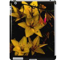 Midnight Flowers iPad Case/Skin