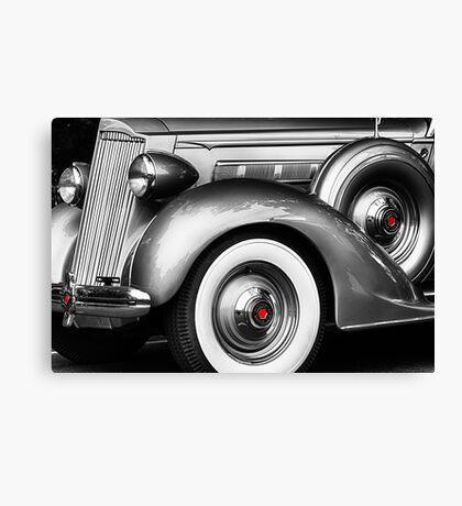 1936 Packard Vintage Auto Canvas Print