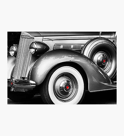 1936 Packard Vintage Auto Photographic Print