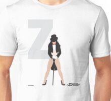 Zatanna - Superhero Minimalist Alphabet Clothing Unisex T-Shirt