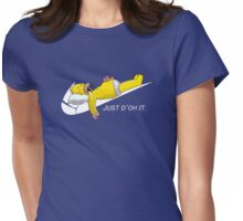 JUST D'OH IT Womens Fitted T-Shirt