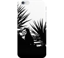 Quail in the yuccas iPhone Case/Skin