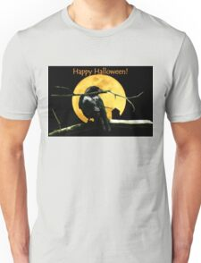 Full Moon Shining ~ Black Crow T-Shirt