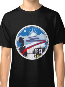 Way of St.James wanderer adventure track Classic T-Shirt